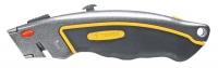 Topex 17B172 Нiж з трапецiєвидним лезом, 6 лез, металевий корпус