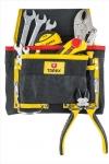 Topex 79R432 Кишеня для інструменту, 8 гнізд, метал. петлі
