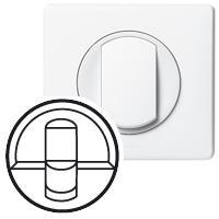 Legrand Лицьова панель розетки 1xRJ45 кат.6 (для UTP/FTP/SFTP) (білий), Celiane