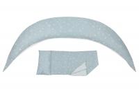 Nuvita Подушка для вагітних 10 в 1 DreamWizard (сіра)