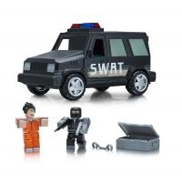 Roblox Игровая коллекционная фигурка Feature Vehicle Jailbreak: SWAT Unit W4, набор 2 шт.