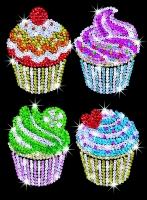 Sequin Art Набір для творчості BLUE Cupcakes