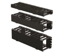 Eaton Горизонтальний кабельний організатор, 1U, високої щільності