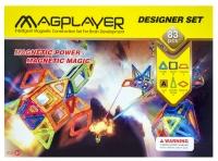 MagPlayer Конструктор магнитный 83 ед. (MPA-83)