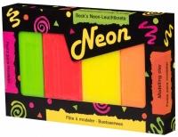 Becks Plastilin Набір неонового пластиліну 500г. 4 кольори