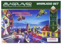 MagPlayer Конструктор магнітний 166 од. (MPA-166)