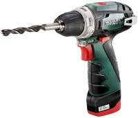 Metabo PowerMaxx BS аккумуляторный 10.8V 2x2Ah, з/у, сумка