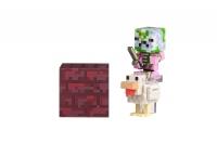 Minecraft Ігрова фігурка Zombie Pigman Jockey серія 4