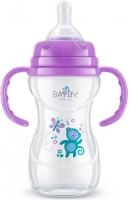 Bayby Пляшечка для годування 240мл 6м+ фіолетова