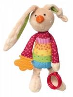 sigikid Кролик із брязкальцем (26 см)