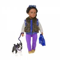 LORI Лялька (15 см) Ілісса і собака тер'єр Індіана