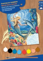 Sequin Art Набір для творчості PAINTING BY NUMBERS JUNIOR Mermaid
