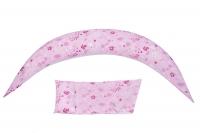 Nuvita Подушка для вагітних 10 в 1 DreamWizard (рожева)