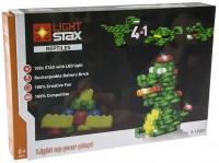 LIGHT STAX Конструктор з LED підсвіткою Reptiles S13001
