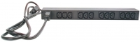 APC Устройство распределения электропитания Rack PDU, Basic, 1U, 16A, (12)C13;IEC-320 C20