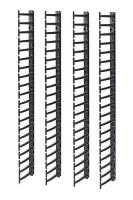 APC Вертикальный организатор кабелей для шкафов NetShelter SX (4 шт.)