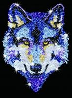 Sequin Art Набір для творчості BLUE Wolf