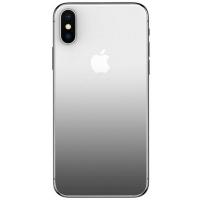 Baseus Захисне скло Full-glass Coloring Back Film для iPhone X (Black)