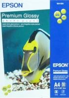 Epson A4 Premium Glossy Photo Paper, 50л.