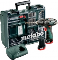 Metabo PowerMaxx SB Basic ударна 10.8V 2x2Ah, з / у, кофр, набір