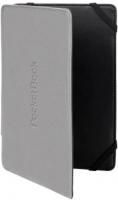 PocketBook обложка для PB623/PB622/PB624 двухсторонняя, черный/серый