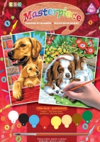 Sequin Art Набір для творчості PAINTING BY NUMBERS JUNIOR-PAIRS Dogs