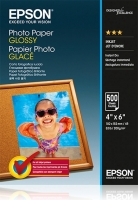 Epson 100mmx150mm Glossy Photo Paper, 500л