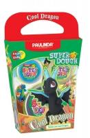PAULINDA Маса для ліплення Super Dough Cool Dragon Дракон (чорний)