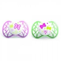 Nuvita симетрична Air 0м+ 2шт. для дівчинки