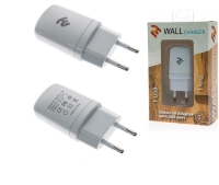 2E USB Wall Charger 1A, white