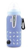Nuvita Підігрівач пляшечок автомобільний (синій)
