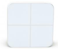 Aeotec Розумна кнопка WallMote Quad, Z-Wave, DC 5V Li-Ion, 4 кнопки, 16 сценаріїв, біла