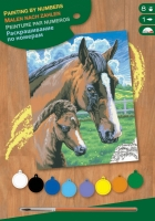 Sequin Art Набір для творчості PAINTING BY NUMBERS JUNIOR Horse and Foal