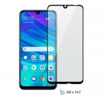2E Защитное стекло для P Smart 2019 (2.5D Black border FG)