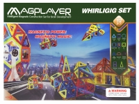 MagPlayer Конструктор магнитный 112 ед. (MPB-112)