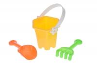 Same Toy Набір для гри з піском - Жовтий (3 од.)