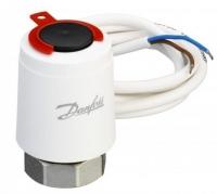 Danfoss Термоэлектрический привод Thermot TWA-K NO 230V, M30 x 1.5, длина кабеля 1.2м