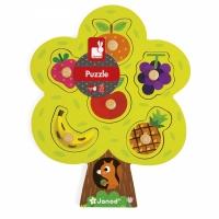 Janod Пазл-вкладиш Фруктове дерево