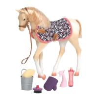 Our Generation Игровая фигура - Лошадь Скарлет с аксессуарами 26 см