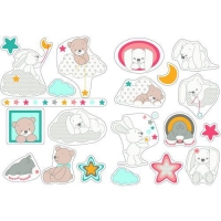 Nattou Декоративні стікери - Мія і Базиль
