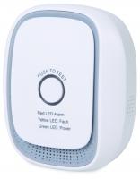 Zipato Умный датчик горючего газа Gas Sensor, Z-wave, 230V, 75дБ, белый