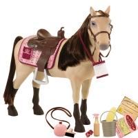 Our Generation Игровая фигурка - Конь Чемпион с аксессуарами (50 см)