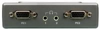 D-Link KVM-121 2port w/cables w/audio