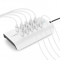 Belkin Станция для зарядки RockStar 10 PORT USB-A CHARGER 2.4 Amp, 120W