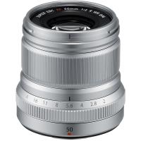 Fujifilm XF 50mm F2.0 R WR Silver