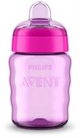 Avent Поїльник 260мл 9+ рожевий