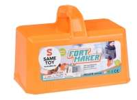 Same Toy Ігровий набір 2 в 1 - Snow Fort Maker (помаранчевий)