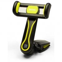 Remax Тримач автомобільний для смартфонів Air Vent Smart Car Mount Holder black + yellow