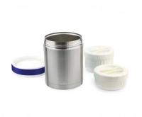Nuvita Термос металевий для їжі (1000мл., 2 контейнери, нерж.сталь)