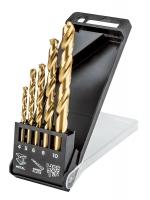 Graphite Свердла по металу HSS-TiN 4.0 - 10 мм, набір 5 шт.